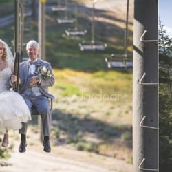Photo Of June Mountain Weddings Lake Ca United States Dad And