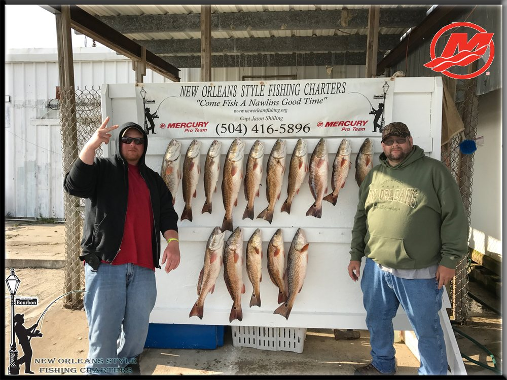 New Orleans Style Fishing Charters: 5057 Kenal Rd, Lafitte, LA
