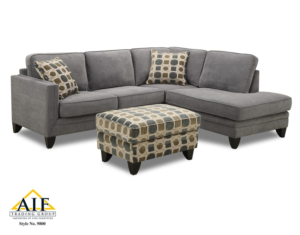 New edmonton sectional sofa with bonus ottoman 99999 for Sectional sofa edmonton