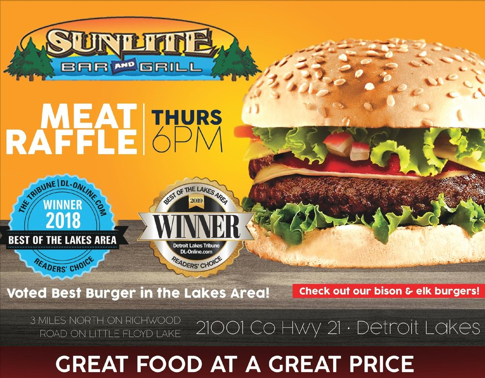 Sunlite Bar & Grill: 21001 County Hwy 21, Detroit Lakes, MN