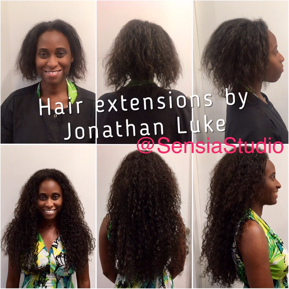 Brazilian Keratin And Hair Extensions By Our Jonathan Luke At Sensia