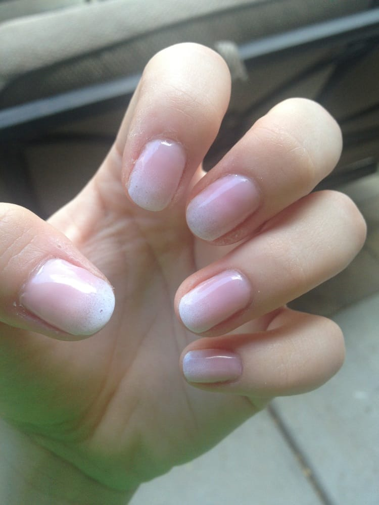 French ombré gels! - Yelp