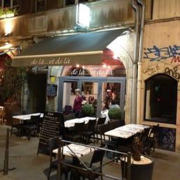 Restaurant Rue Louis Paufique Lyon
