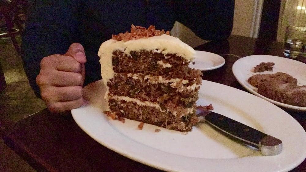 Carrot Cake Bigger Than My Boyfriends Large Fist Yelp