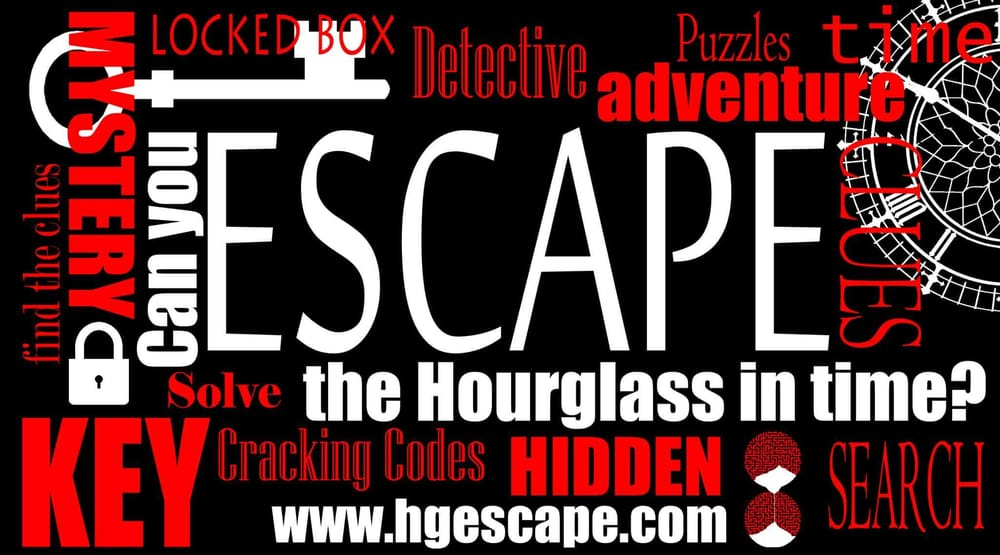 Hourglass Escape Rooms: 2606 W Main St, Russellville, AR