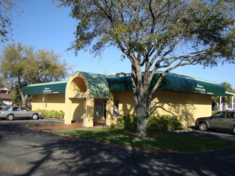 Bayfront Convenient Care Clinics: 1550 Pasadena Ave S, South Pasadena, FL