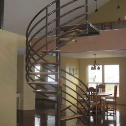 Photo Of Innovative Metal Craft Erie Pa United States Spiral Stairs America