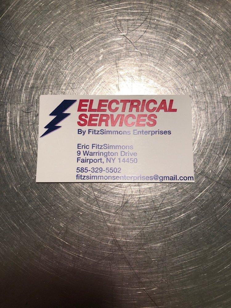 Electrical Services By FitzSimmons Enterprises: 9 Warrington Dr, Fairport, NY