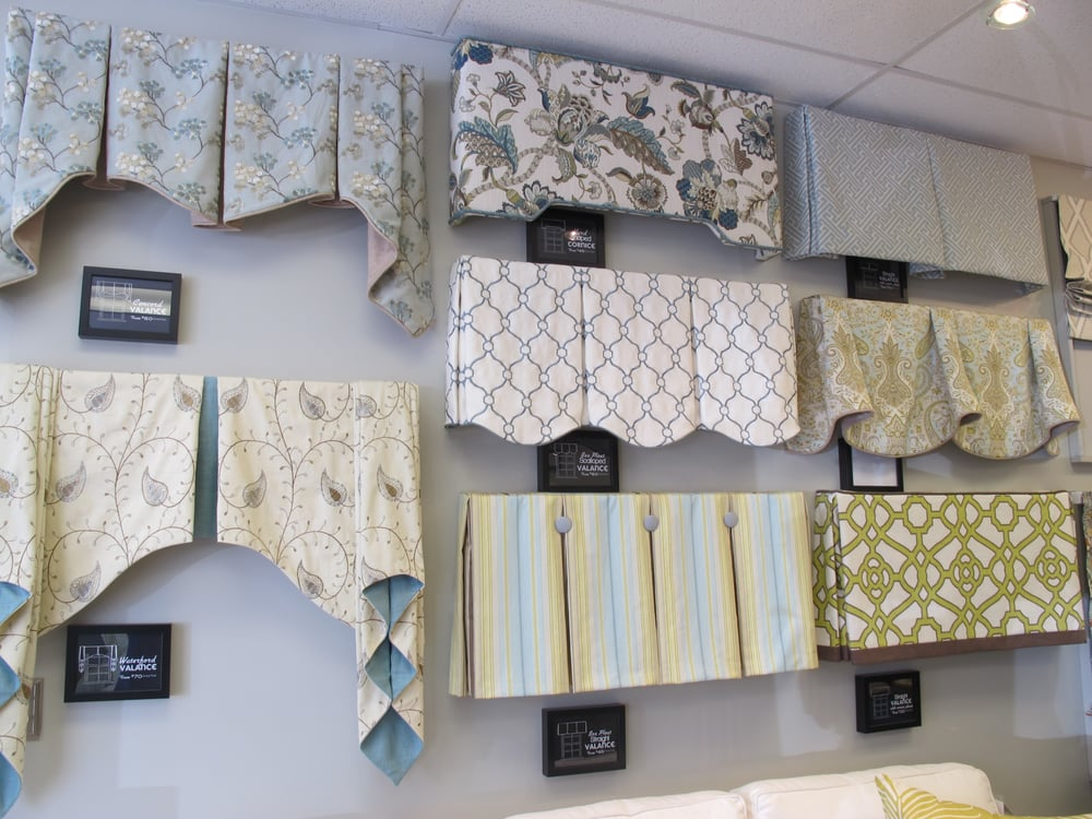 A Variety Of Window Treatment Valances Amp Cornice Boards