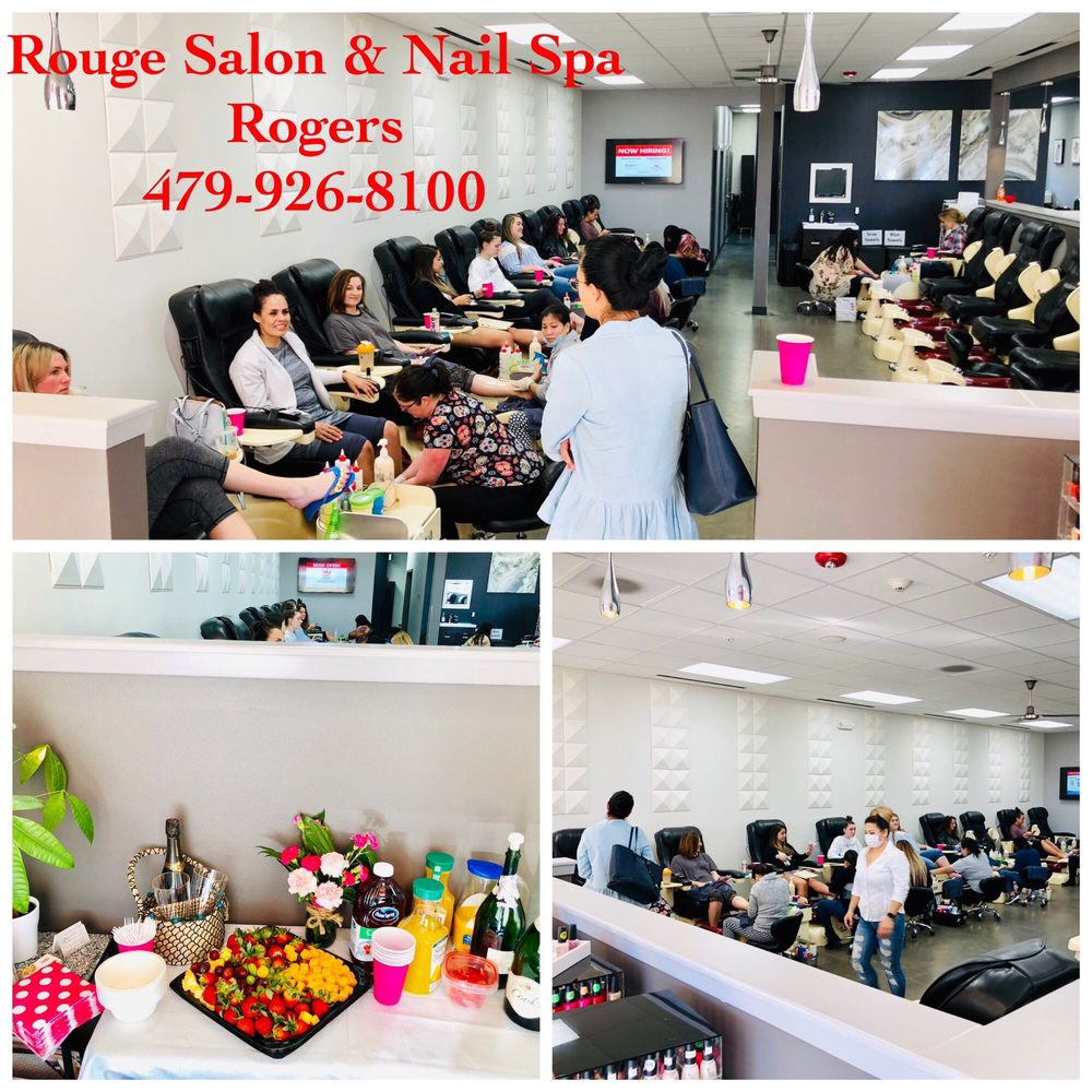 Rouge Salon and Nail Spa Pinnacle: 2012 S Promenade Blvd, Rogers, AR