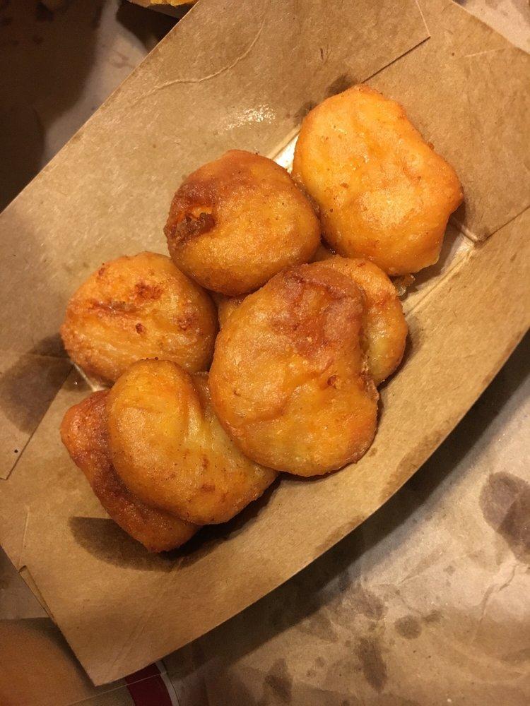 Food from Wayback Burgers