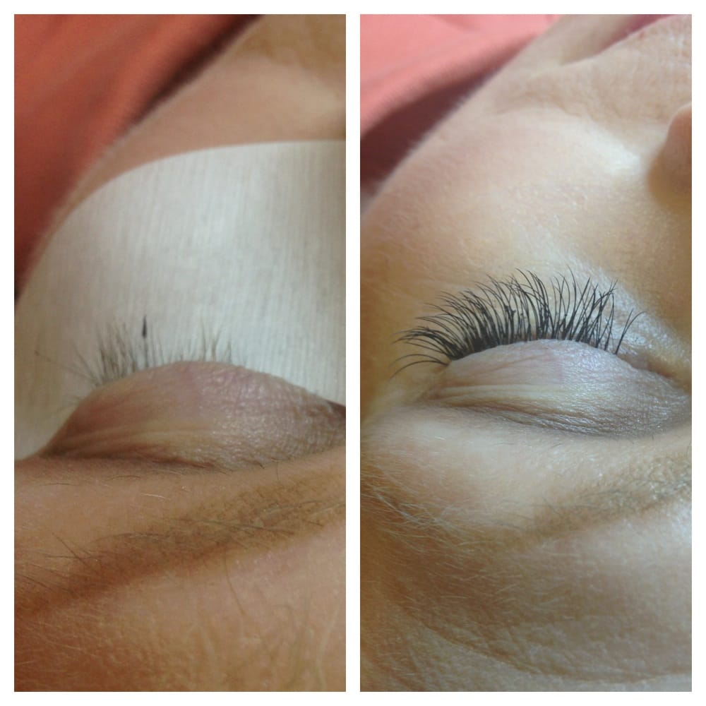 eyelash curler before and after. photo of salon avanti - stockton, ca, united states. before: lashes that eyelash curler before and after