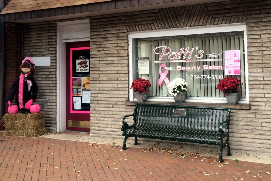 Patti's Beauty Salon: 450 3rd St, Beaver, PA