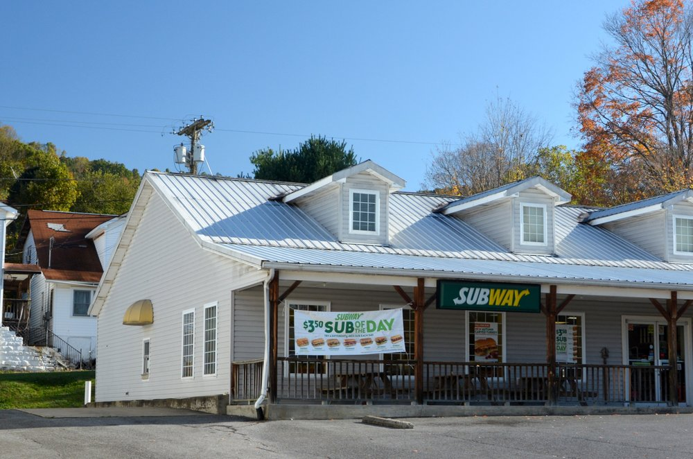 Subway: 123 Main St, Ansted, WV