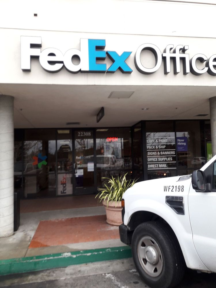 FedEx Office Print & Ship Center: 22308 Foothill Blvd, Hayward, CA