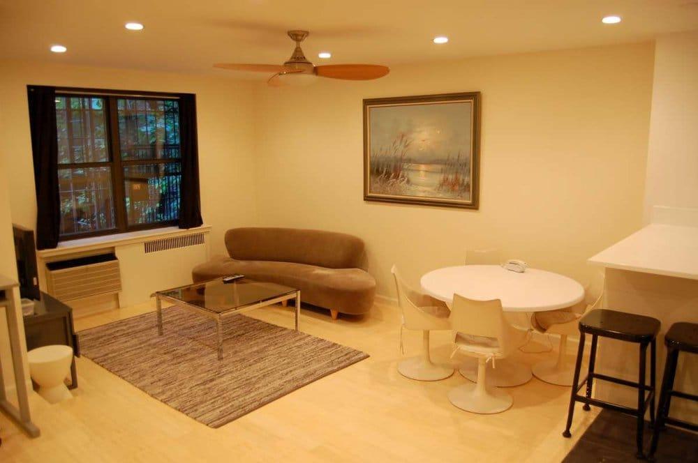 Cutaway Apartment Full Furnitures Modern Design: Sample 2 BR Apartment. Bamboo Floors, Stainless Steel