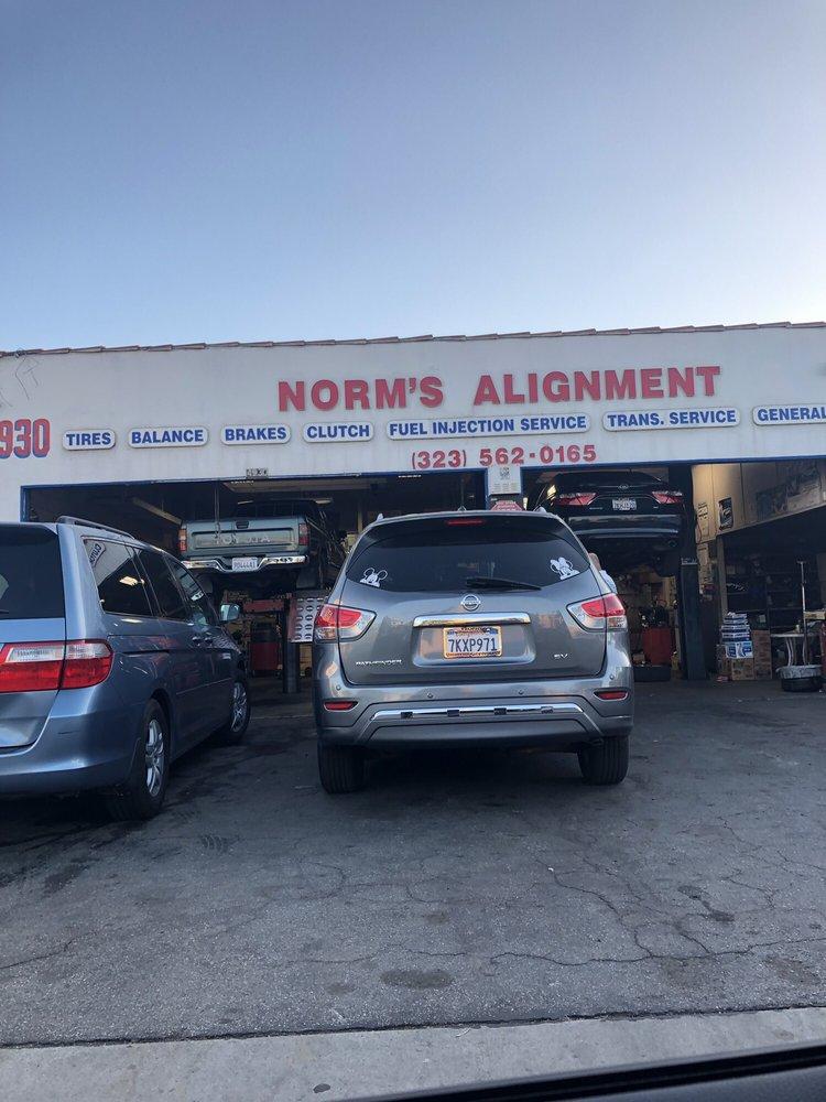 Norm's Tire Alignment & Brake Service: 4930 Slauson Ave, Maywood, CA