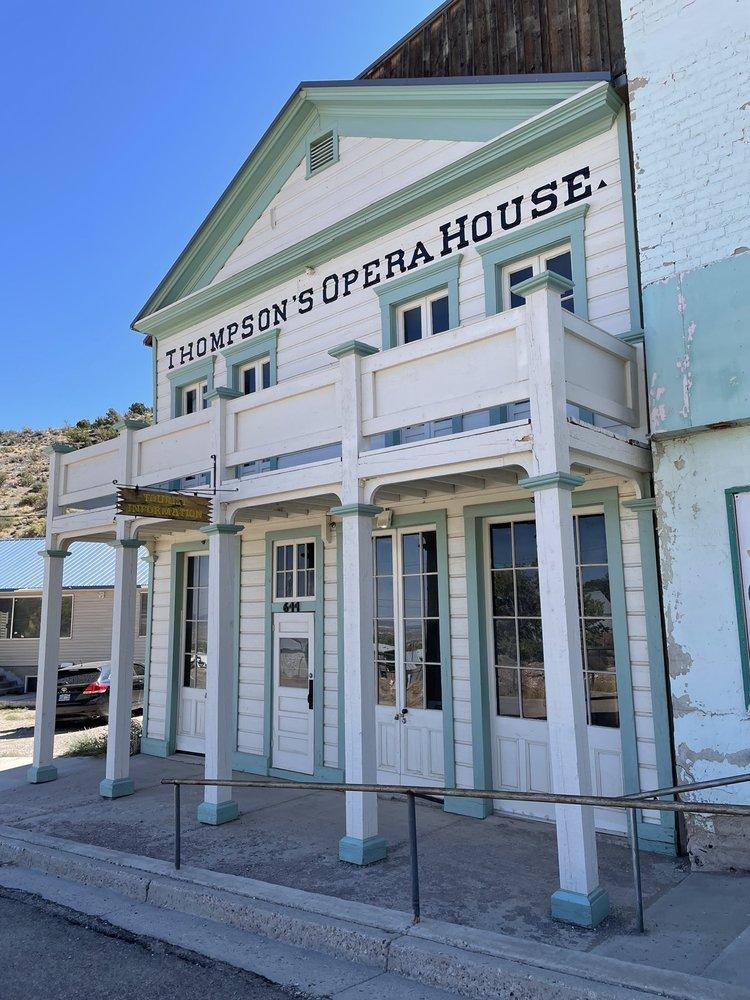 Thompsons Opera House: 644 Main St, Pioche, NV