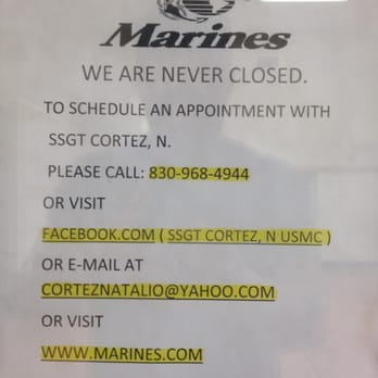 Marines Recruiting Office - Employment Agencies - 355 S Bibb Ste ...