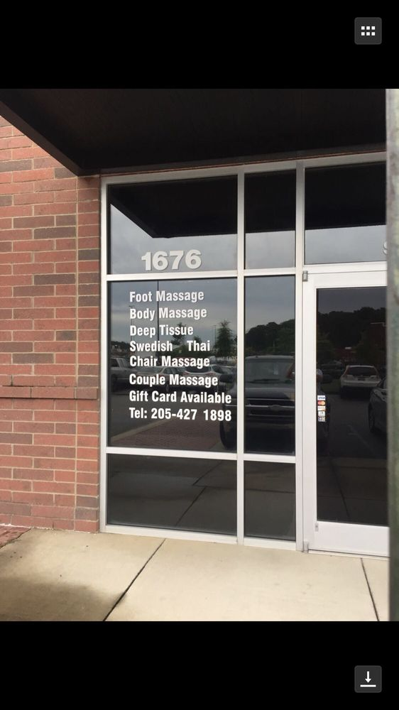 Relax Massage SPA: 1676 Montclair Rd, Birmingham, AL