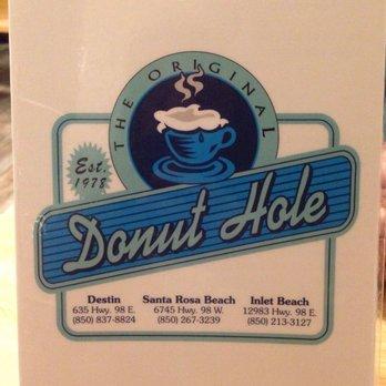 Donut Hole Bakery Cafe Santa Rosa Beach Menu