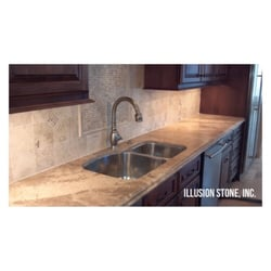 Photo Of Illusion Stone   Houston, TX, United States. Quartz Countertop  With Tile