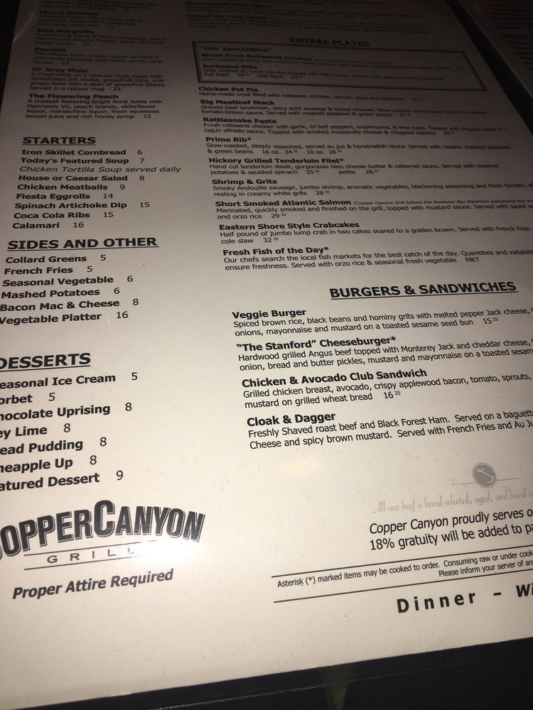 Copper Canyon Grill - Woodmore - 653 Photos & 643 Reviews