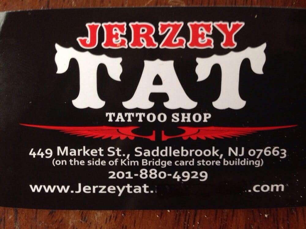 Jerzey Tattoo - CLOSED - Tattoo - 449 Market St, Saddle Brook, NJ ...