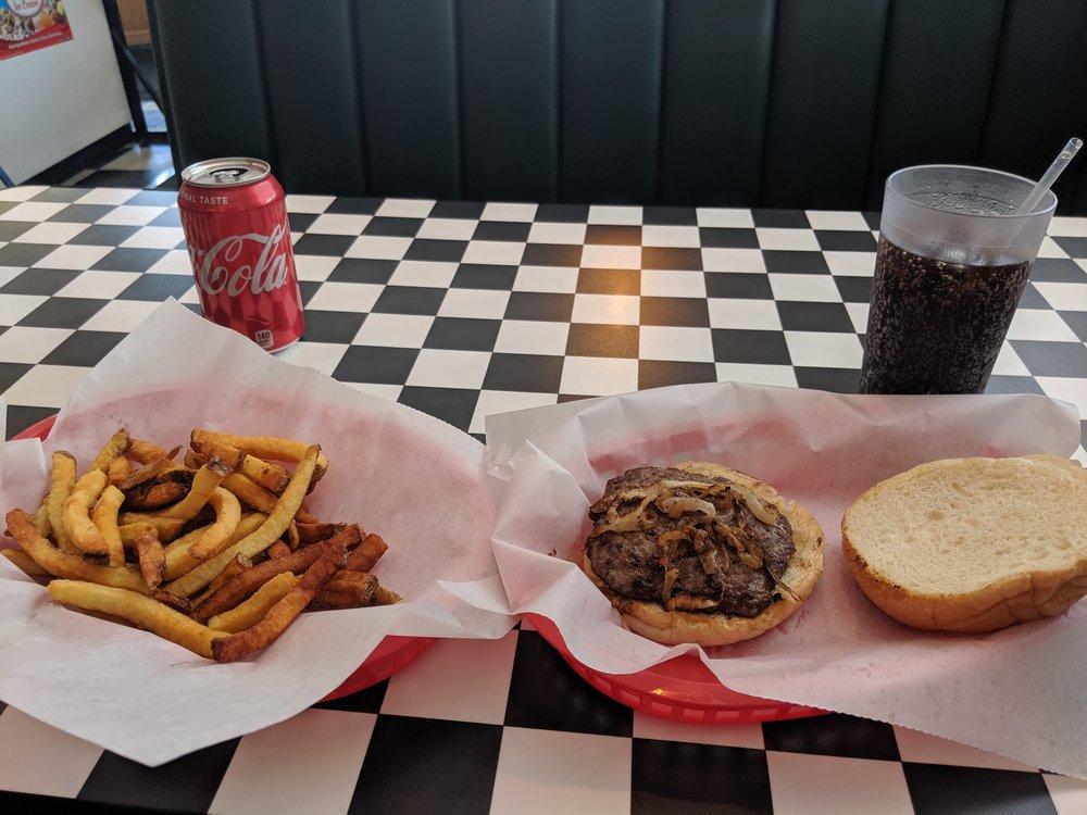 Howsa Bouta Old Tyme Burger: 22415 Huron River Dr, Rockwood, MI