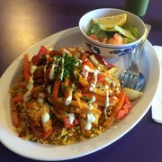 Photo Of Kasba Halal Restaurant Seattle Wa United States En And Rice