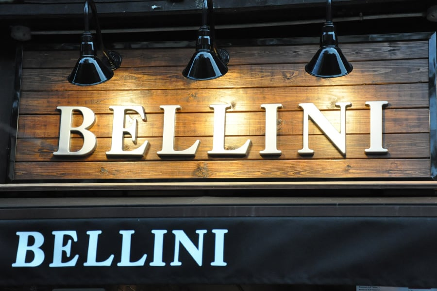 Bellini Restaurant New York City