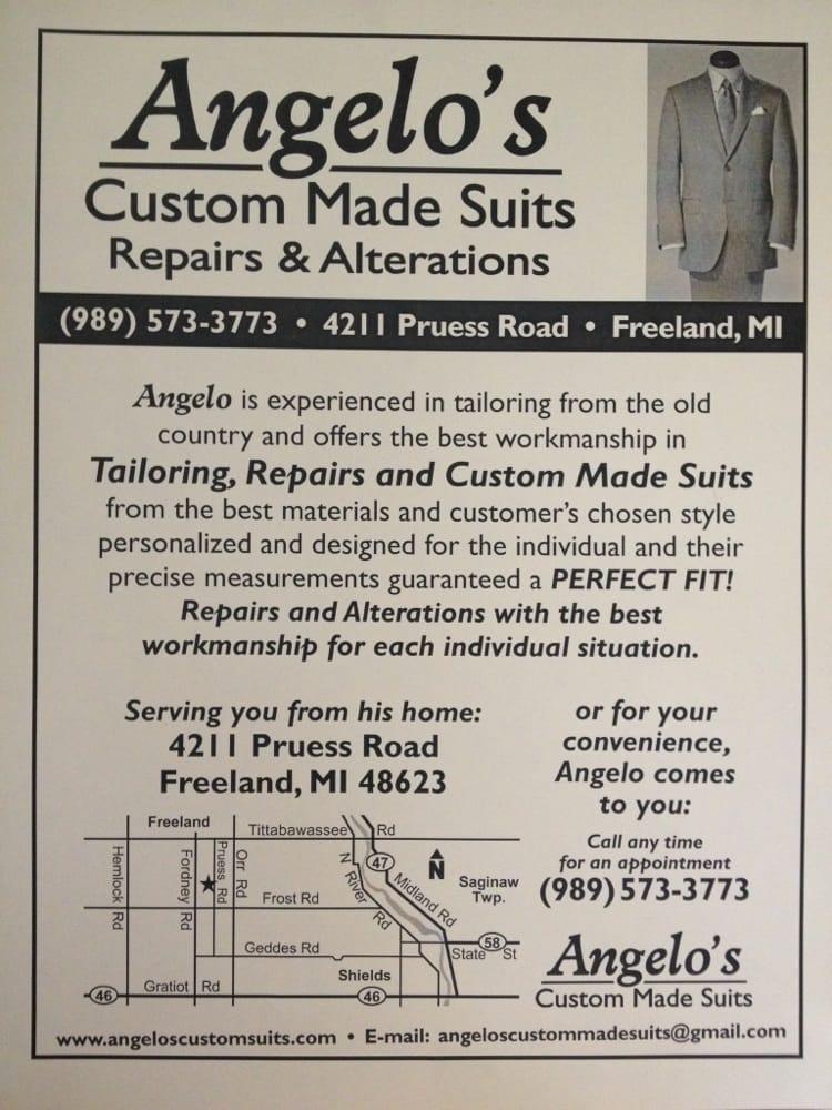 Angelo's Custom Made Suits: Freeland, MI