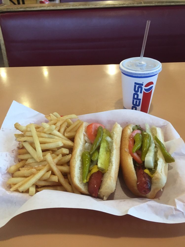 Aj's Hot Dogs & Gyros: 250 W Baltimore St, Wilmington, IL