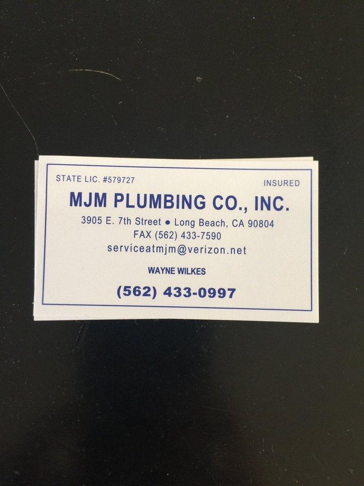 Mjm Plumbing Long Beach