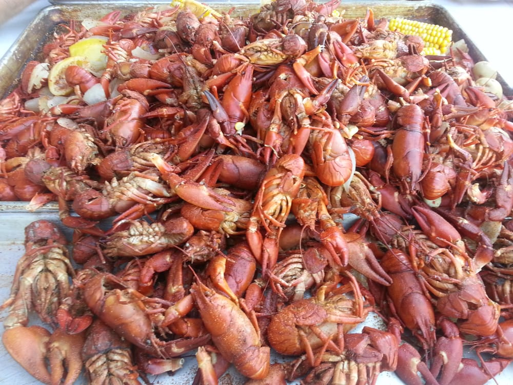 Food from Snake River Crawfish