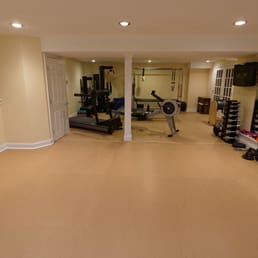 Photo Of Kiefer U.S.A.   Lindenhurst, IL, United States. Home Gym Fitness  Flooring