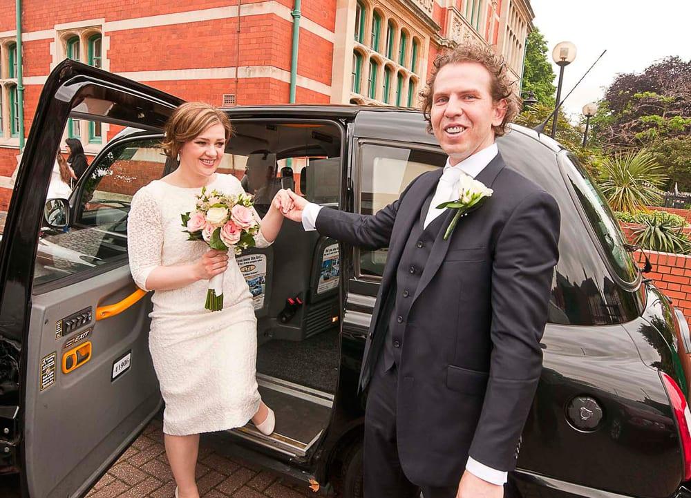 Ealing registry office wedding