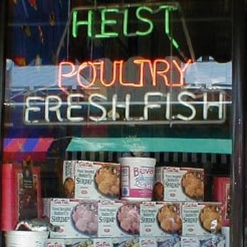 Heist fish poultry seafood markets 106 w elder st for Fish market cincinnati
