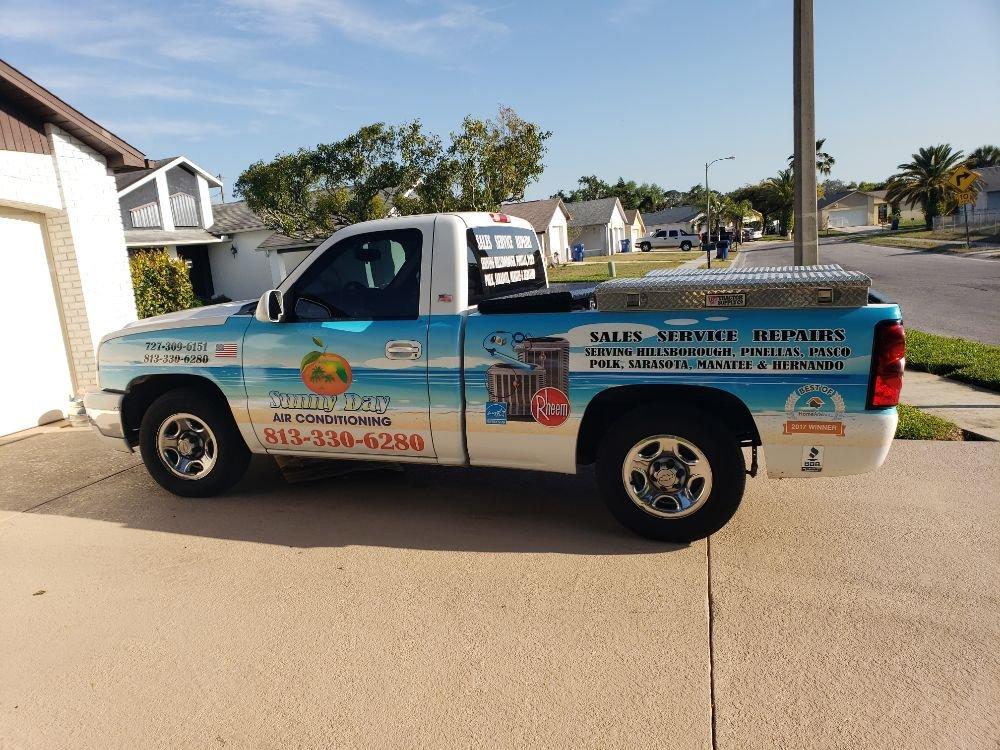 Sunny Day Air Conditioning: 9755 Star Trl, New Port Richey, FL