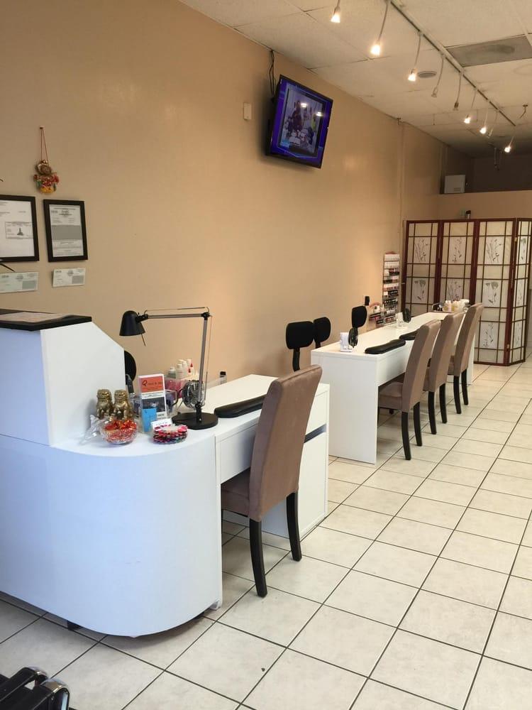 Q nails spa 70 photos 27 reviews nail salons for A salon of studio city