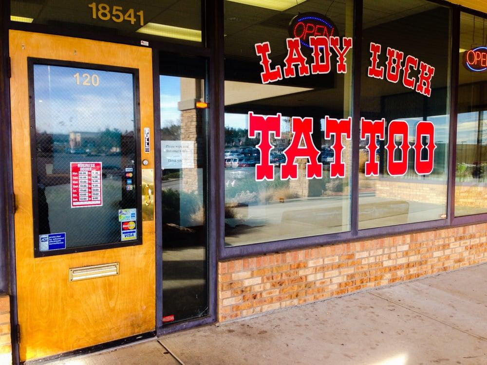 Lady Luck Tattoo: 18541 E Hampden Ave, Aurora, CO