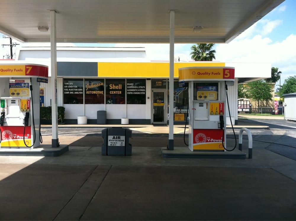 Johnson Shell & Automotive: 6390 Calder Ave, Beaumont, TX