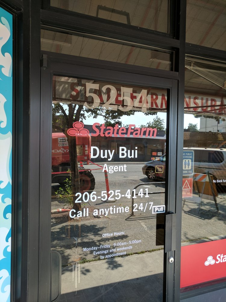 Duy Bui - State Farm Insurance Agent | 5254 University Way NE, Seattle, WA, 98105 | +1 (206) 525-4141