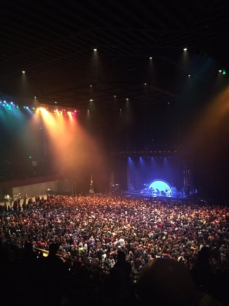 General admission floor view from balcony seats - Yelp