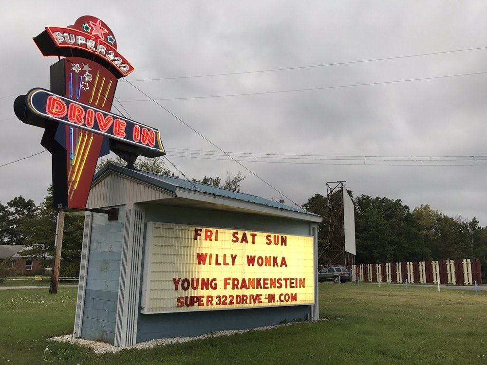 Super 322 Drive-In: State Rt 322, Clearfield, PA