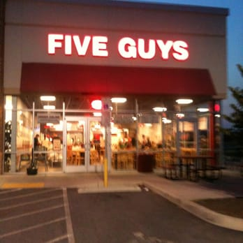 ranson guys Five guys burgers and fries- leased space in a plaza near rite aid  etc all it will take in ranson is another big name interested,.
