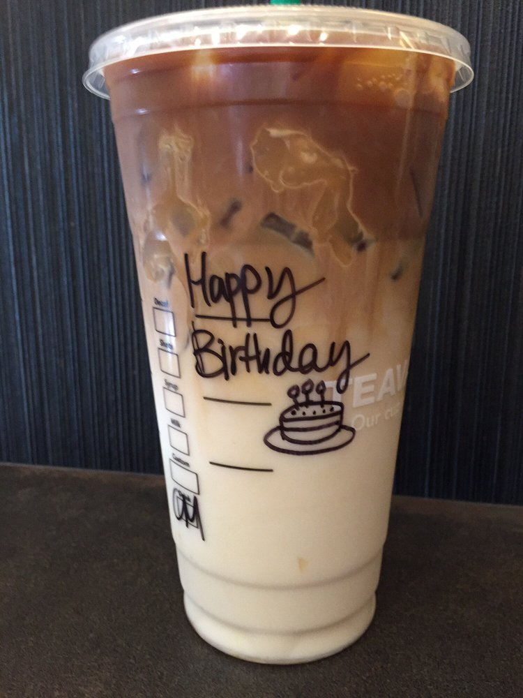 Free starbucks drink birthday Iphone 2g release