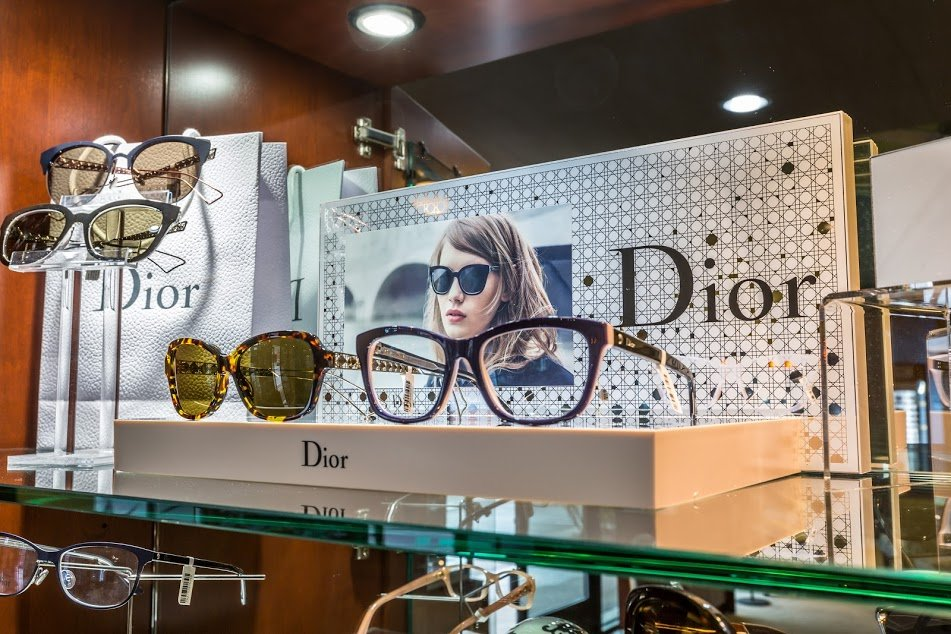 We have hundreds of designer and name brand frames and sunglasses ...