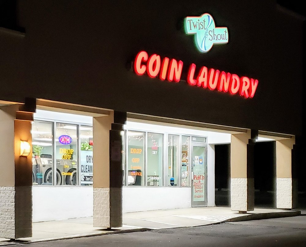 Twist & Shout Coin Laundry: 1113 E Grand River Ave, Howell, MI