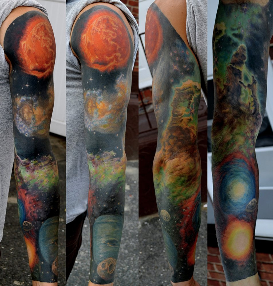 The Abyss Fine Art & Tattoo Studio: 251 W Park Ave, Long Beach, NY